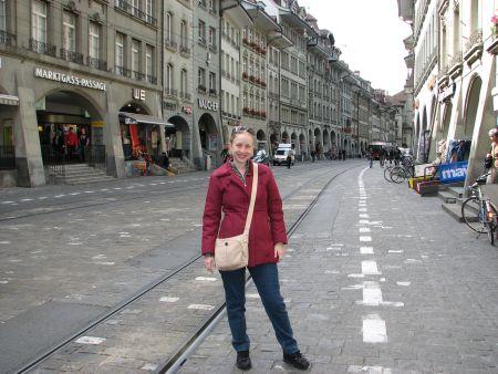 Em Bern, a capital da Suíça!