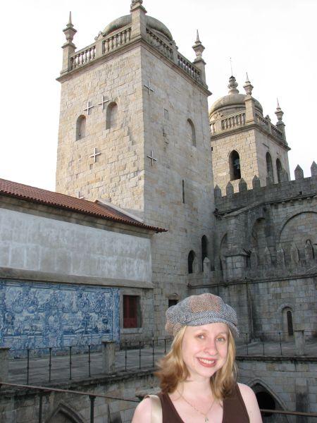 Na Catedral do Porto