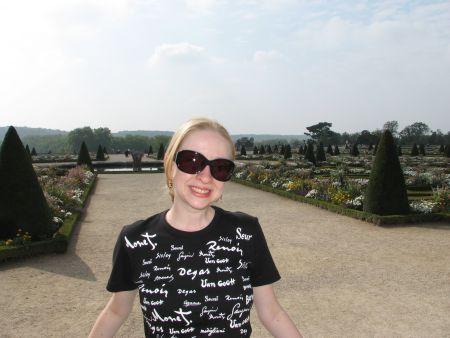 Os jardins do castelo