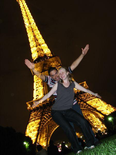A torre à noite ;-)