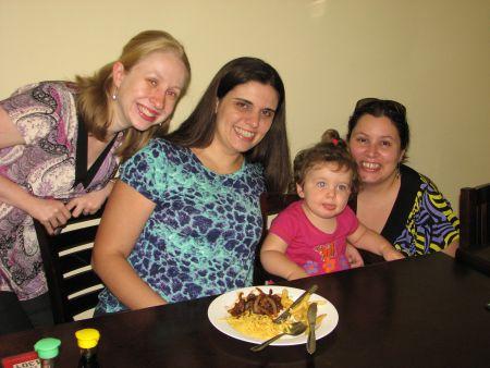 Eu, mamãe Nanda e filhota Gigi e Rubia