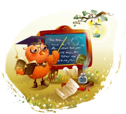 corujinha professora