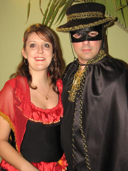 Espanhola Tati e Zorro Fernando