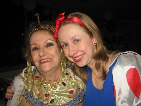 A outra aniversariante, minha madrinha!
