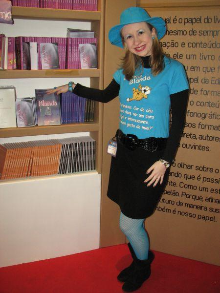 Blanda no estande da editora Multifoco na Bienal de SP! :-)